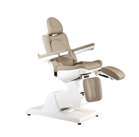 Electric Beauty Bed Cosmetic Treatment Chair with Split footrest
